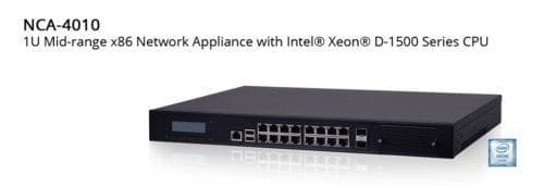 Lanner NCA 4010 - XEON D-1518/1548 network computing appliance