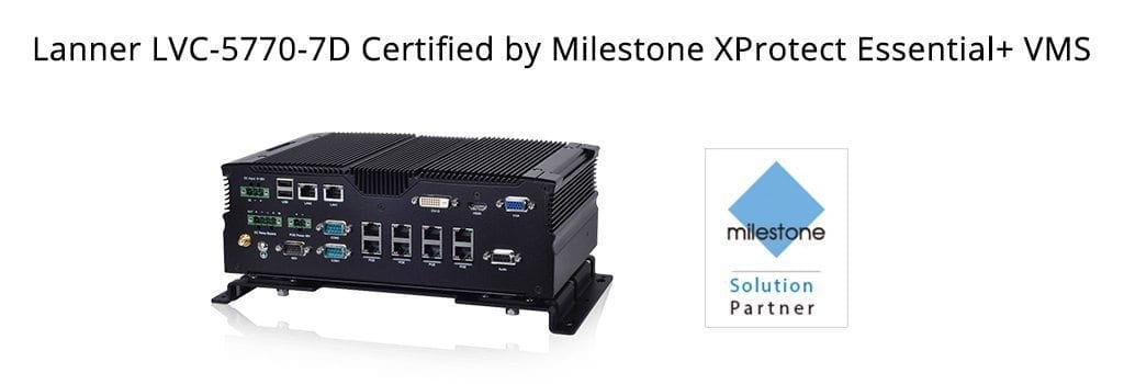 Milestone XProtect Certified Lanner's Vehicle NVR