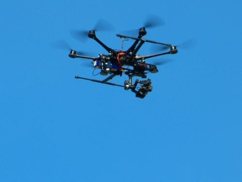 drone for oil well monitoring