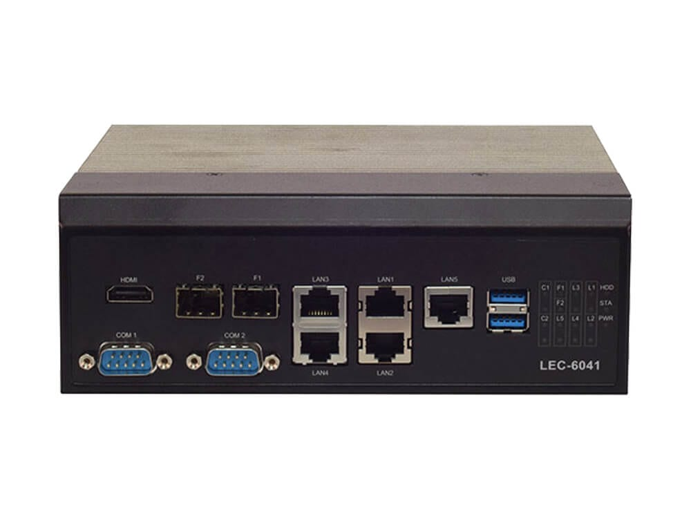 LEC-6041 industrial pc with hardware root security