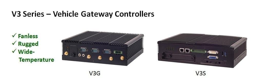 V3 series vehicle gateway controller Lanner